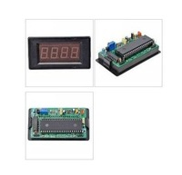 Digital Red LED Voltage 3 1/2 Panel Meter DC 500V 19631