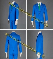 Wholesale Free Shipping Hot Selling Cheapest New Halloween Cosplay Costume CE3002 Detective Conan high school male uniform