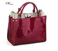 Free shipping.great ladies' fashion bag,genuine cow leather handbag.shopping.office lady.