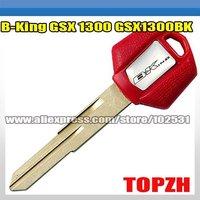 Motorcycle Key Blank B-King GSX 1300 GSX1300BK SUZUKI TA038