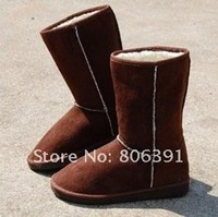 CHEAP!! Winter warm thicken women's snow boot, Fahion Christmas lady snow boot/pink,black,camel,dark brown,beige