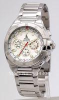 luxury watches,Brand watch, Free shipping!Steel 50meter waterproof,multi-function quartz watch,brand men's watches
