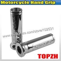 Motorcycle Hand Grip For Suzuki Hayabusa Chromed TA395