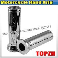 Motorcycle Hand Grip For Suzuki GSXR All Models Chromed TA398