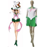 Free Shipping+Sailor Moon Lita Kino Cosplay Costume