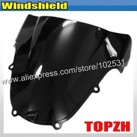 Free Shipping Black Motorcycle Windshield WindScreen Suzuki GSXR 600 750 K8 08-09 Y367