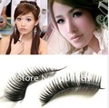 Wholesale individual Natural Long Thick False fake artificial Eyelashes Makeup beauty accessory hand-made good quality