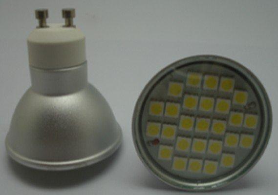 GU10 SMD LED spotlight,27pcs 5050 SMD LED,5W(China (Mainland))