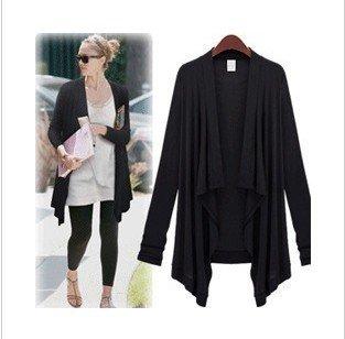Long Sleeve Sweater Dress on Fashion Long Sleeve Long Cardigan Cotton Linen Knit Knitting Air Con