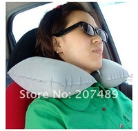 Travel Pillow U shape Neck Rest Air Inflatable Plane car cushion