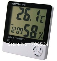 Free shipping Wholesale Retail New LCD Digital Temperature & Humidity Meter HTC-1