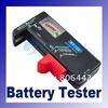 BT-168 Universal Battery Tester for 9V 1.5V and Button Cell AAA AA C D freeshipping dropshipping(China (Mainland))