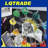 2014 New Product/Solar Table Lamp color rotating Ferris wheel/Creative gift/romantic gift