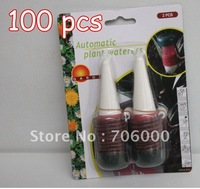 Hot sale Wholesale 100pcs/lot New In Retail packing automatic plant waterers Houseplant Spikes Free EMS SHIPPING