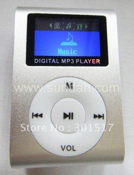 Free shipping,digital new mini OLED MP3 music player with 5 color,10pcs/lot