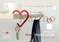Free Shipping Wholesale Heart Shaped Hanger, Handbag Bag Hook, Holder, Key Ring, Chains