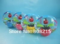 6 PCS/Lot Free Shipping Solar Flower ,Flip Flap Swing Solar Flower.mix color