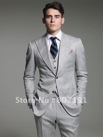 FREE SHIPPING mens groom wedding dress wear suit Bridegroom groomsmen