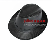 2011 the new black True skin   leather hat  leather cap  man male money polite