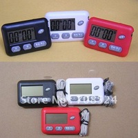 Free shipping,Portable Professional Electronic Large Screen Countdown Timer With rope