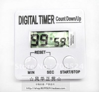 Free shipping,Hot sell!10pcs Timer,LCD Digital  Electronic timer, Electronic countdown/up timers