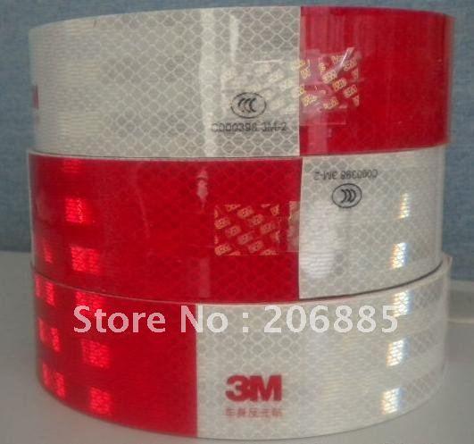 100% Original gurantee 3M diamond grade film Tape  50mm*50yard/safty tape