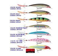 Free shipping 50pcs/lot minnow bait 11cm+30g XR10-S,XR10-P,XR10-RT,XR10-SB  plastic hard fishing lures