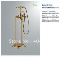 2011 New Bathroom Luxury Antique Brass Shower Set Brass Shower Mixer Bathtub Faucet TL-1519A