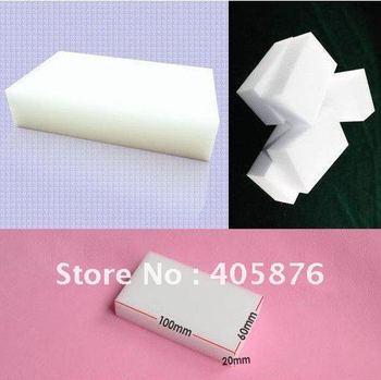 60 Magic Sponge Eraser Melamine Cleaner 100x60x20mm 60pcs/lot Free shipping ,2012 hotsell Magic Sponge Eraser