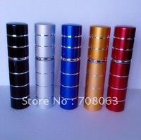 EMS Free Shipping 25pcs/lot 10ml perfume spray ,travel refillable sprayer ,perfume atomizer ,empty perfumes bottle