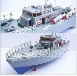 NEW! FREE shipping! Remote control ship,charging wireless remote control speedboat, with light(China (Mainland))
