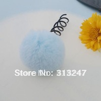 Novelty Soft Ball Spin Pins Hair Pin Unique Goody Simple  Hairpins Styles With Pearl Free Shipping