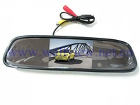 2ways video inputs Digital Panel 4.3 inch Car Rear View Mirror Monitor