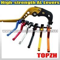 New High-strength AL  Single 1pcs Brake Lever for SUZUKI GSR600/ABS 06-10 084