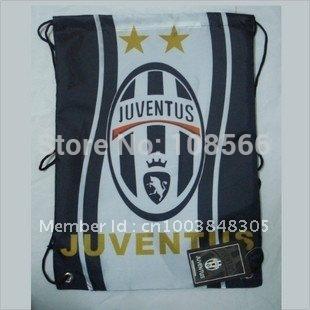 wholesale Juventus  football back pack bag / shoe bag sport backpacks