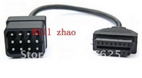 OBD2 TO RENAULT 12PIN FOR RENAULT CAN CLIP Renault 12 pin