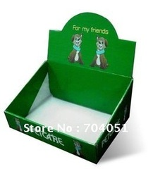 25pcs/carton,flat pakcing, pdq counter display,display box(China (Mainland))