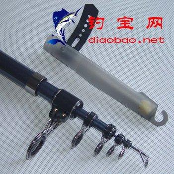 Carbon hollow Reel seat  long shot fishing rod ,far spinning rod