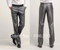 HOT SELL! men's suit pants, dress pants, man suit trousers,slim style gentleman pants, size 28~37,black,gray,silver