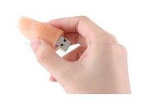 10pcs free dropshipping 100%full capacity! USB Finger U disk8G 8GB Flash Memory Drive U-Disk