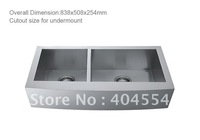 84CM Stainless Steel Sink Double Bowls Kitchen 5803