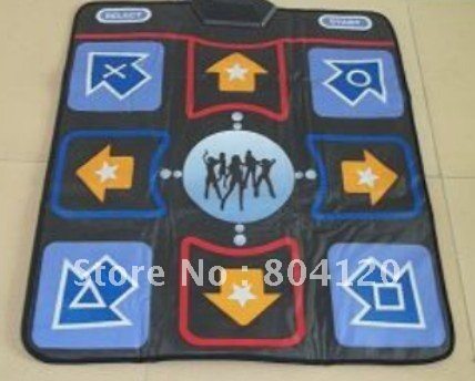 Hot Selling 8MM Non-Slip Dancing Step TV+USB Dance Mat Mats Pads Drop Shipping Support(China (Mainland))