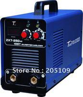 2pcs 10% OFF! DC Inverter MMA welding machine ARC250 (ZX7-250) IGBT welder, Free shipping, Wholesale & retail