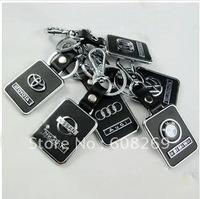 freeshipping!  wholesale leather key/car KEY/keychain/smarfs/motorcgcle/car accessories/skoda