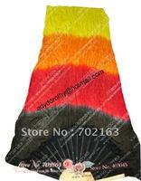 Silk Fan Veil/Belly Dance Fan Veil/Silk Fan Veil Wholesale