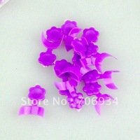 70pcs Purple French Side False Fake Nail Tips With Box Acrylic Nail Art 5boxes/lot