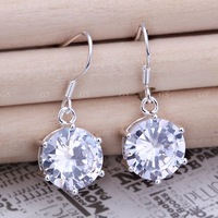 Серьги висячие silver earrings, high quality silver earrings, fashion jewelry, jewelry, GSSPE168