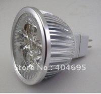 20PCS 12V MR16 4W High power dimmable led spotlight LED bubls light, 4*1w dimming led spot light white/ warm white