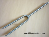 Titanium MTB Fork with Disc Brake and V Brake
