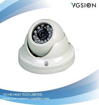 5pcs/lot Anti-vandal Dome IR Camera CCD Camera 24 IR 420 TVL + Free Shipping